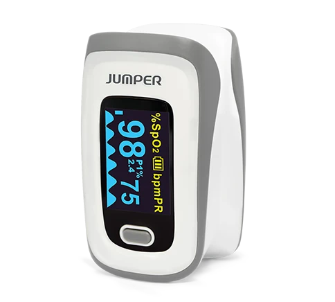 Jumper JPD-500E Fingertip Pulse Oximeter (LED)